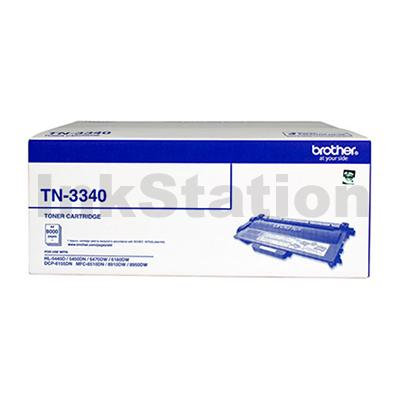 Genuine Brother TN-3340 High Yield Toner - 8,000 pages