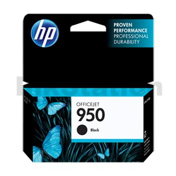 HP No.950 (CN049AA) Genuine Black Inkjet Cartridge - 1,000 pages