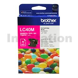 Genuine Brother LC-40M Magenta Ink Cartridge - 300 pages